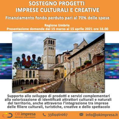 Sostegno progetti imprese culturali e creative